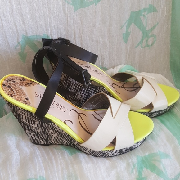 Sam & Libby Shoes - Sam and Libby wedge heels 8